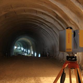 Railway Tunnel Ikonio