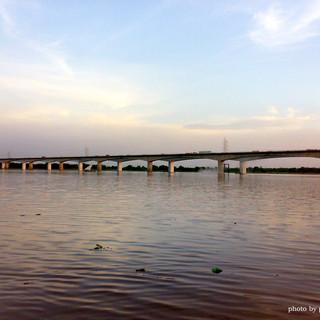 2nd Bridge On Narmada River, Zadeshwar Zadeshwar / India