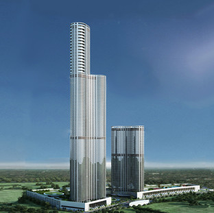 Lodha World one - Mumbai / India