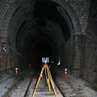 Rail Tunnel Ag. Stefanos