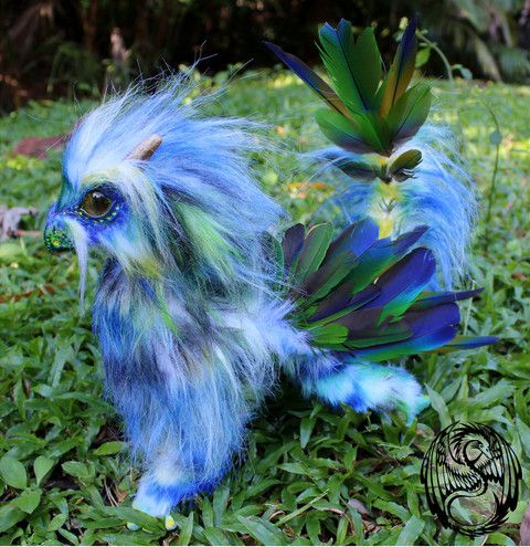 tropical_dragon___ooak_poseable_art_doll