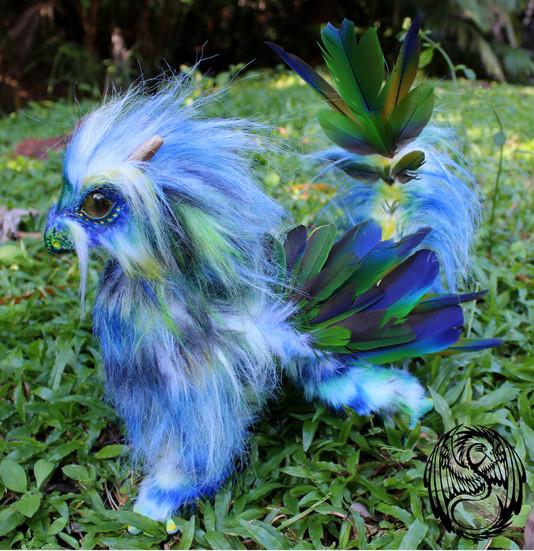 tropical_dragon___ooak_poseable_art_doll