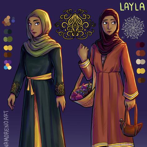 Layla Character Sheet