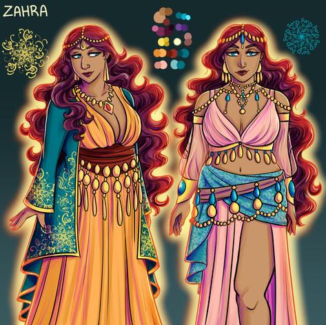 Zahra Character Sheet