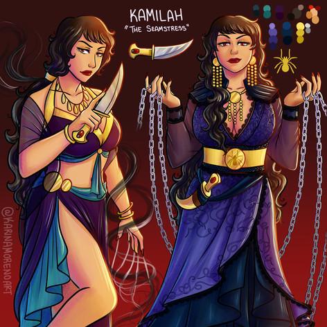 Kamilah Character Sheet