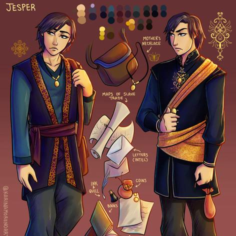 Jesper Character Sheet