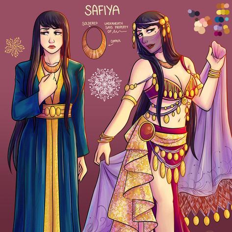 Safiya Character Sheet