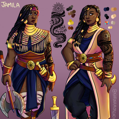 Jamila Character Sheet