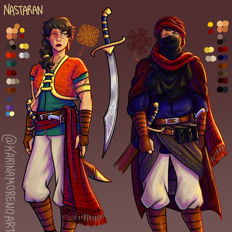 Nastaran Character Sheet