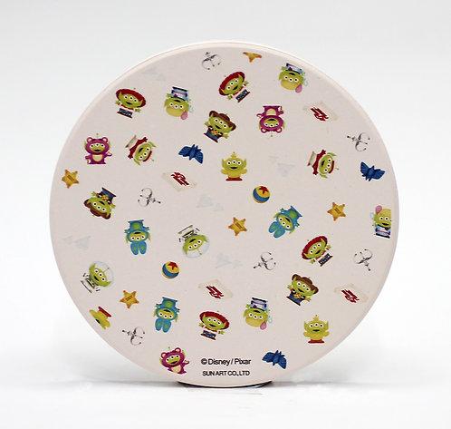 迪士尼三眼仔系列矽藻土杯墊