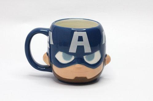 Marvel系列-美國隊長立體造型杯