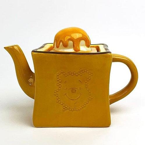 迪士尼維尼蜜糖多士茶壺