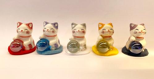 3.8cm迷你全家好幸福貓咪戰隊