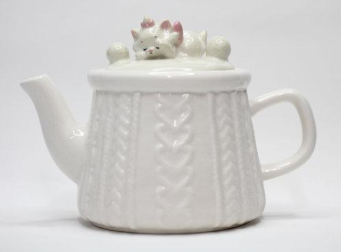 迪士尼富貴貓貓茶壺