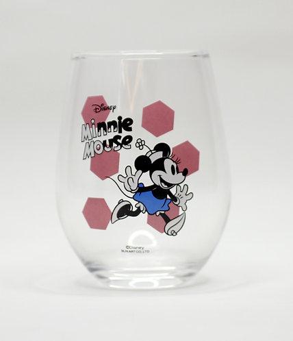 迪士尼米妮玻璃杯