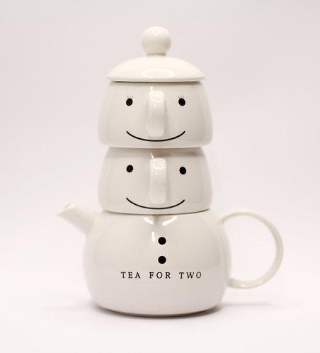 兩口子茶壺套裝
