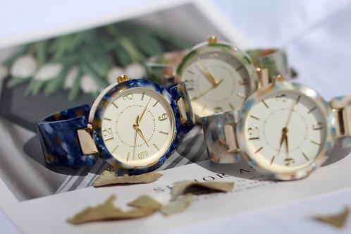 玳瑁紋女裝腕錶