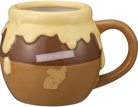 迪士尼小熊維尼蜜糖罐造型杯(黃色)