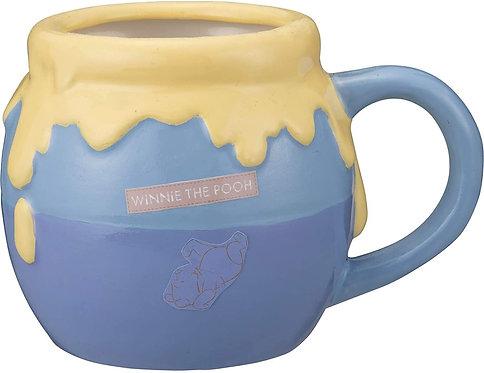 迪士尼小熊維尼蜜糖罐造型杯(藍色)