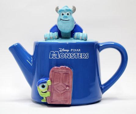 迪士尼怪獸公司立體茶壺