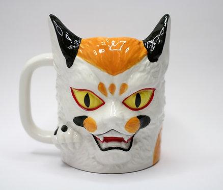 妖怪三色貓星人杯