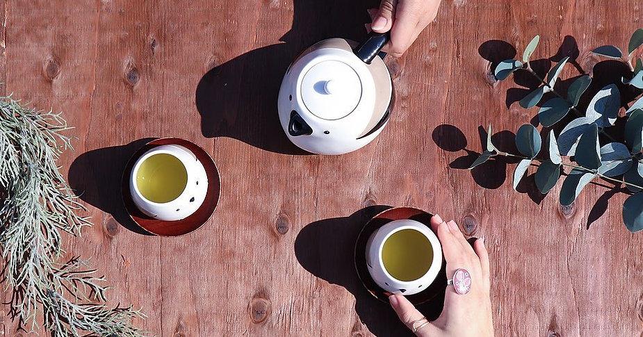 土土屋 TOTALHOUSE 小鳥發呆茶壺連兩名呆萌小小鳥杯