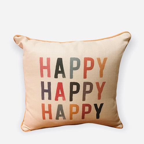 Pillow Happy Happy Happy