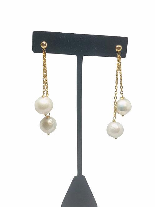 Cascade Pearl Earring