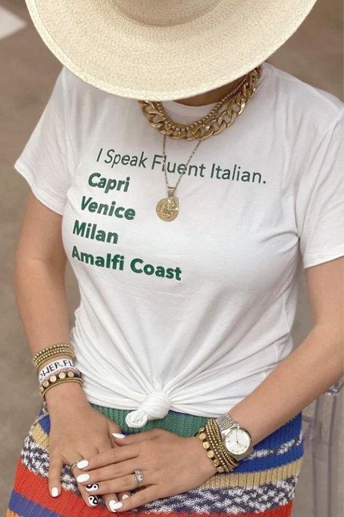 Italian Destination Tee