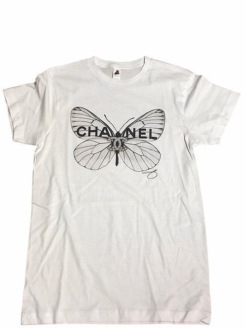 Chanel Butterfly Tee