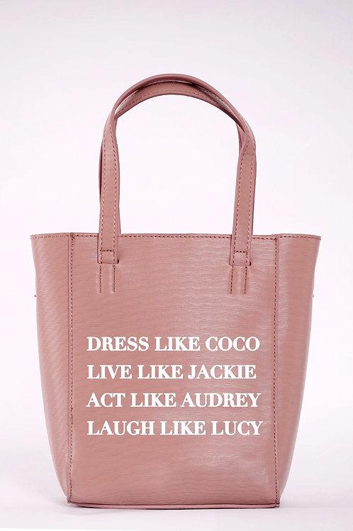 Dress Like Coco Bucket Bag