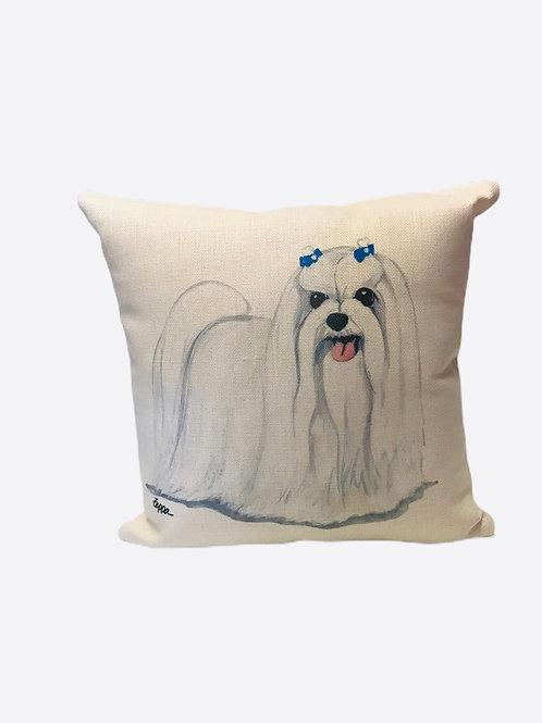 """Pillow """"Maltese"""""""