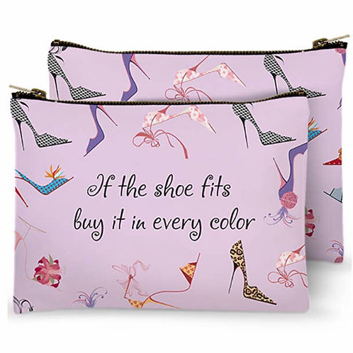 Zippered Bag - If the shoe fits buy it in every color