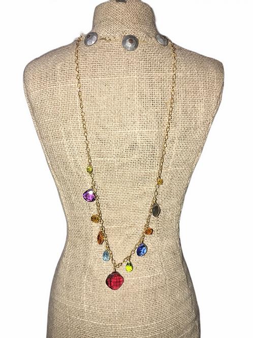 Ruby Quartz Necklace