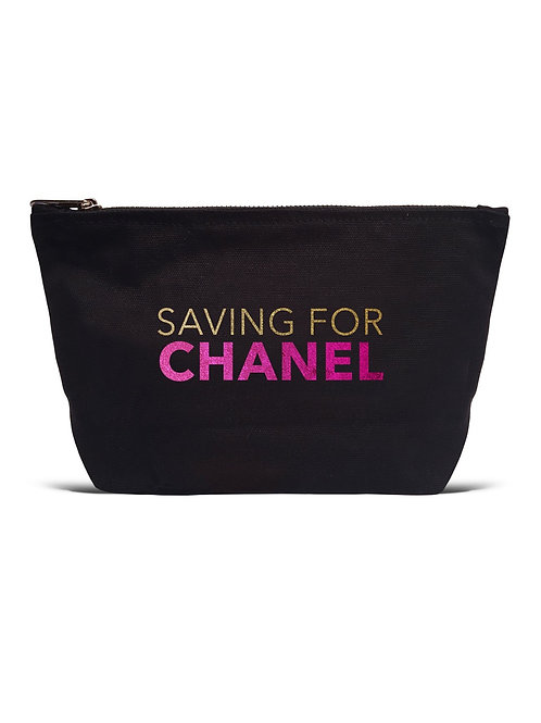 Saving For Chanel Black Pouch