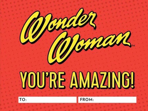 Wonder Woman: You're Amazing! A Fill-In Book