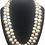 Thumbnail: Double Strand Bam Bam Pearl Necklace
