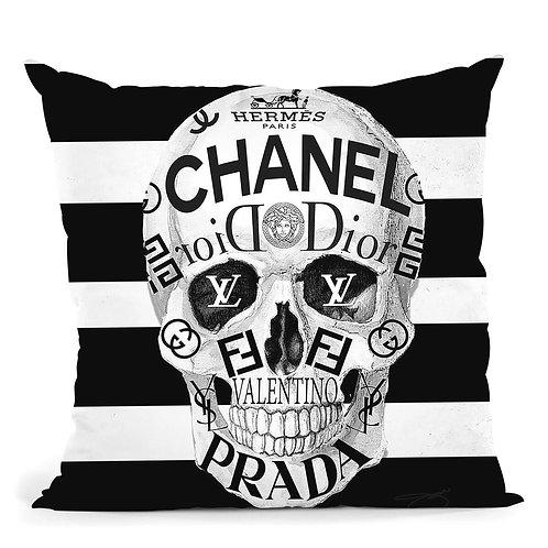 Designer Skull Pillow
