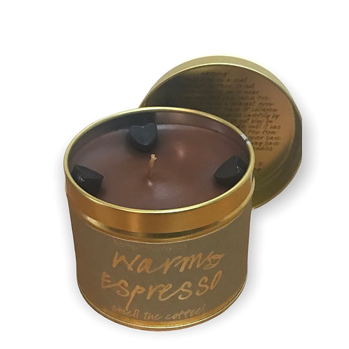 Expresso Tin Candle