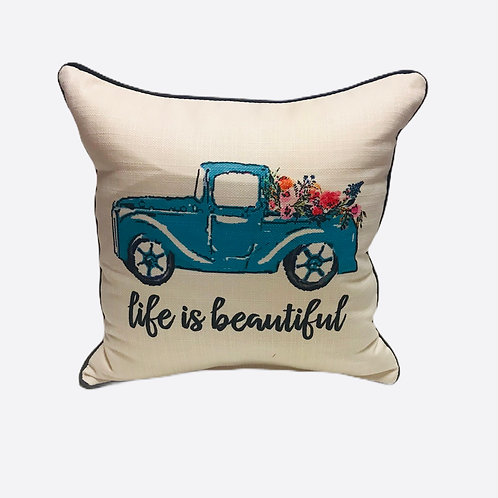 "Pillow ""Life is Beautiful"""