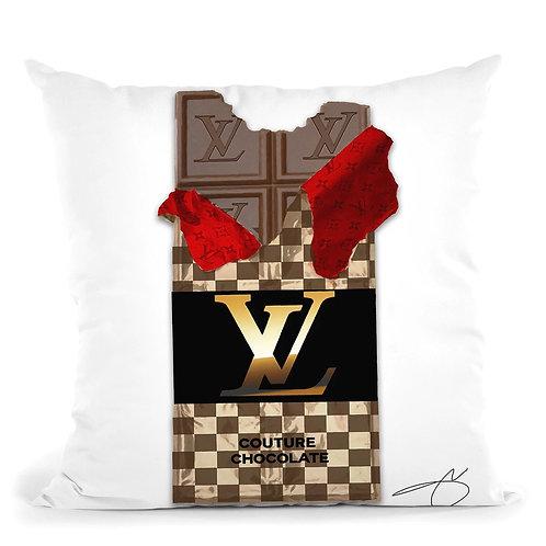 Chocolate Bar LV Pillow