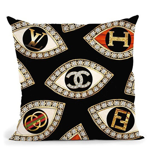 Couture Eyes Pillow
