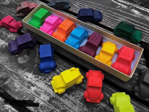 Car Crayons Gift Box