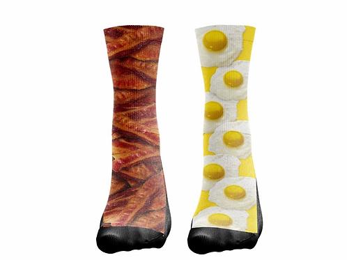 """Socks """"Bacon/Eggs"""""""
