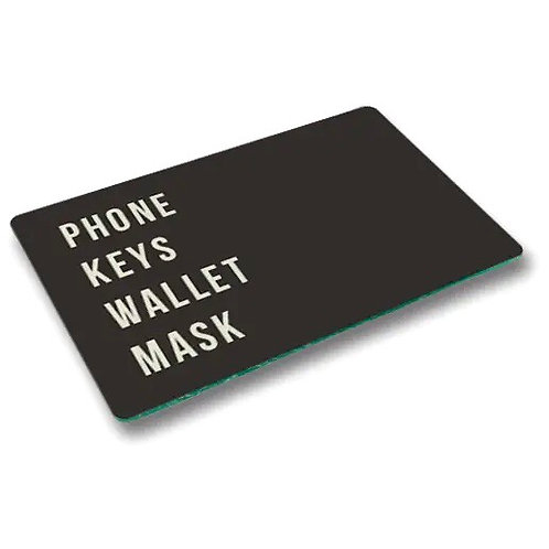 Phone Keys Wallet Mask Tray