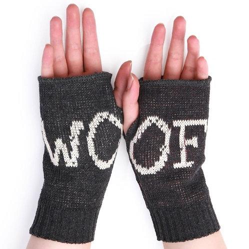 Fingerless Gloves  Woof/Dog