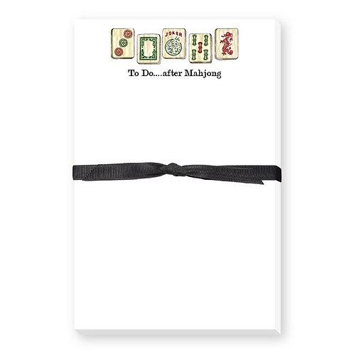 Mahjong Notepad