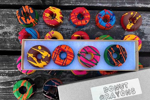 Donut Crayons Gift Box