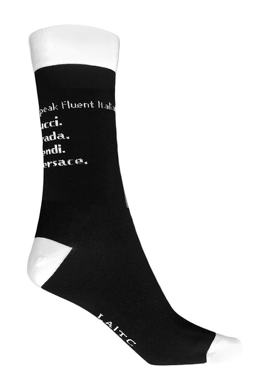 Fluent Italian  Socks