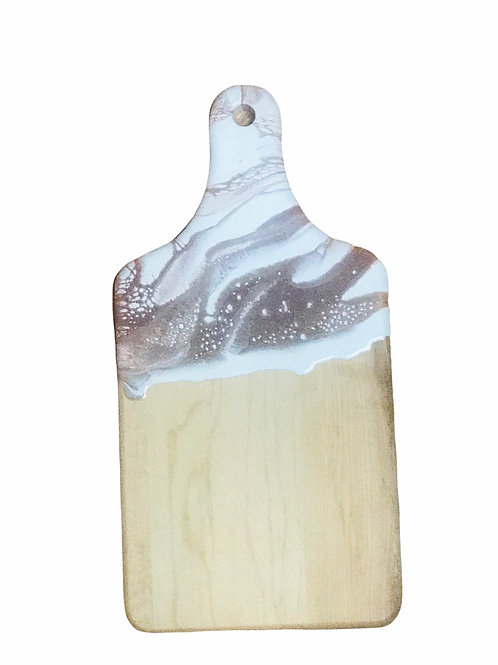 Small Resin Cheeseboard- Rose Gold